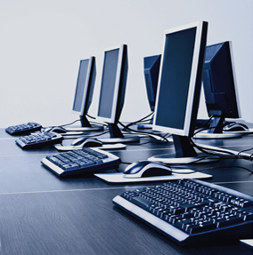 Rent Mac and PC computers and laptops in New York City.